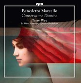 Album artwork for Marcello: Conserva me Domine - Sacred Works
