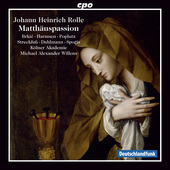 Album artwork for Rolle: Matthäuspassion