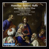 Album artwork for Homilius, Stölzel & Rolle: Christmas Cantatas