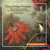 Album artwork for Telemann: Grand Concertos, Vol. 5