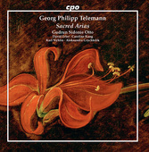 Album artwork for G.P. Telemann: Sacred Arias