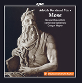 Album artwork for Adolf Bernhard Marx: Mose