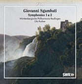 Album artwork for Sgambati: Symphonies Nos. 1 & 2
