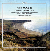 Album artwork for Gade: Chamber Works, Vol. 4