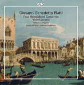 Album artwork for Platti: Four Harpsichord Concertos - Violin Concer