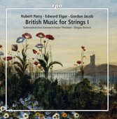 Album artwork for V1: BRITISH MUSIC FOR STRINGS