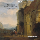 Album artwork for Telemann: Wind Concertos, Vol 1 / Schneider