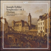 Album artwork for EYBLER: SYMPHONIES 1 & 2