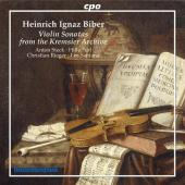 Album artwork for VIOLIN SONATAS FROM THE KREMSIER ARCHIVE