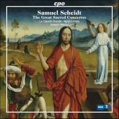 Album artwork for SCHEIDT - THE GREAT SACRED CONCERTOS