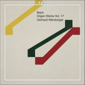 Album artwork for BACH - ORGAN WORKS, VOL. 17