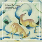 Album artwork for Erdmann: SYMPHONY NO. 4 / MONOGRAMME