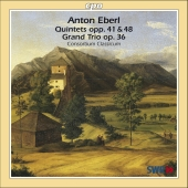 Album artwork for EBERL: Quintets opp. 41 & 48, Grand Trio op. 36