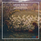 Album artwork for SOBECK: 3 WIND QUINTETS