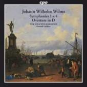 Album artwork for Wilms: Symphonies 1 & 4 / Howard Griffiths