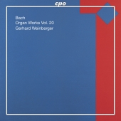 Album artwork for BACH: ORGAN WORKS VOL. 20