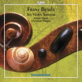 Album artwork for BENDA: VIOLIN SONATAS
