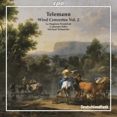 Album artwork for Telemann: Wind Concertos Vol. 2