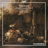 Album artwork for Telemann: Wind Concertos Vol. 3