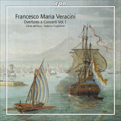 Album artwork for Veracini: Overtures & Concerti vol.1
