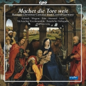 Album artwork for BAROQUE CHRISTMAS CANTATAS FROM CENTRAL GERMANY