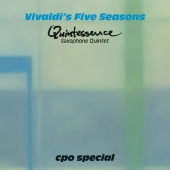 Album artwork for Vivaldi's Five Seasons - Quintessence Sax Quintet