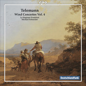 Album artwork for Telemann: Wind Concertos Vol. 4