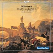 Album artwork for Telemann: Wind Concertos Volume 5