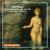 Album artwork for Reger: Violin Sonatas Ops. 3. 41 / Wallin