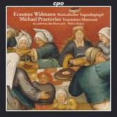 Album artwork for Spirited Dances of Praetorius, Widmann
