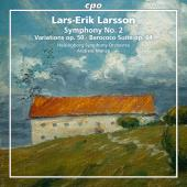 Album artwork for Larsson: Orchestral Works, Vol. 2