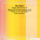 Album artwork for Reger: Organ Works, Vol. 4