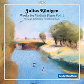 Album artwork for Rontgen: WORKS VIOLIN & PIANO vol.1