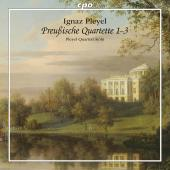 Album artwork for PRUSSIAN QUARTETS 1-3