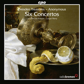 Album artwork for Dresden Treasures: 6 Concertos