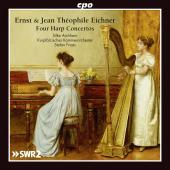 Album artwork for Harp Concertos by E & J.T. Eichner