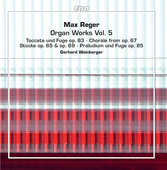 Album artwork for Reger: Organ Works, Vol. 5