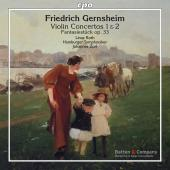 Album artwork for Gernsheim: Violin Concertos Nos. 1, 2 & Fantasiest