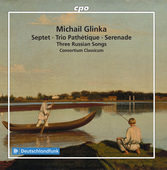 Album artwork for Glinka: Septet, Trio Pathetique, Serenade & 3 Russ