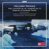 Album artwork for Weinberg: Violin Concertino, Symphony No. 10 & Rha