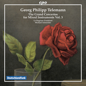 Album artwork for Telemann: GRAND CONCERTOS vol.3