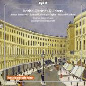 Album artwork for BRITISH CLARINET QUINTETS
