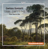 Album artwork for Donizetti: String Quartets Nos. 1-3