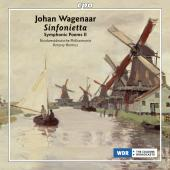 Album artwork for Wagenaar:  Symphonic Poems II , Sinfonietta