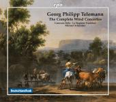 Album artwork for Telemann: The Complete Wind Concertos