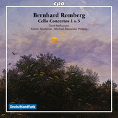 Album artwork for B. Romberg: CELLO CONCERTOS 1 & 5