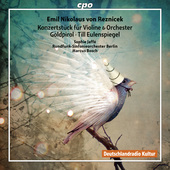 Album artwork for Reznicek: Violin Concerto - Goldpirol - Tille Eule