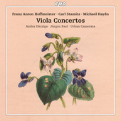 Album artwork for VIOLA CONCERTOS