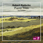 Album artwork for Radecke: Piano Trios