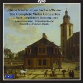 Album artwork for Johann Ernst: Complete Violin Concertos
